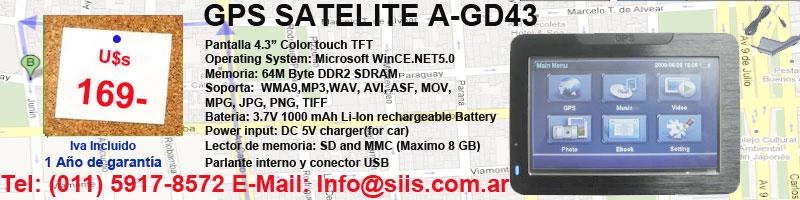 GPS SATELITE U$S169 final